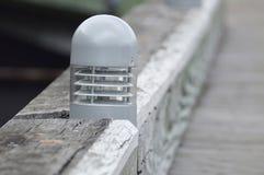 Illuminazione del pilastro fotografia stock