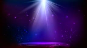 Illuminazione del punto della fase Illustrazione di vettore illustrazione di stock