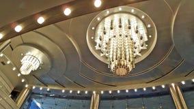 Illuminazione del soffitto Fotografia Stock