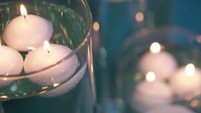 Illuminazione della candela stock footage
