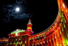 Illuminazione della città Fotografia Stock Libera da Diritti
