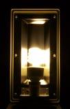 Illuminazione della lampada Immagini Stock