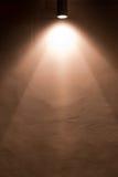 Illuminazione della parete Immagini Stock