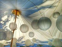 Illuminazione della sfera della tenda Fotografie Stock