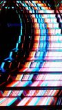 Illuminazione delle scala immagine stock