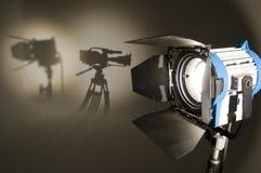 Illuminazione dello studio. Fotografia Stock Libera da Diritti
