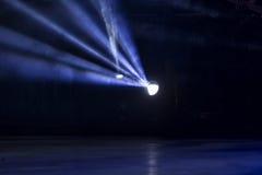 Illuminazione di concerto di spettacolo Immagini Stock
