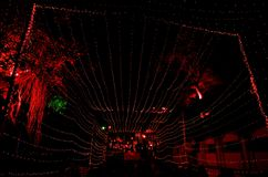 Illuminazione di festival di arte in India-6 Immagine Stock Libera da Diritti