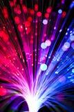 Illuminazione di fibra ottica Immagine Stock