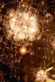 Illuminazione di natale fotografia stock