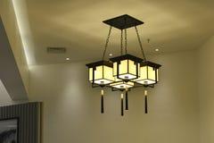 illuminazione di soffitto elegante Immagini Stock