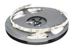 Illuminazione di striscia del LED Fotografia Stock Libera da Diritti