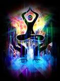 Illuminazione divina illustrazione vettoriale