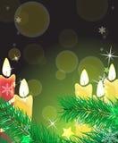 Illuminazione festiva Fotografia Stock