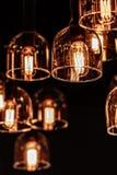 Illuminazione interna della decorazione fotografie stock