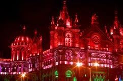 Illuminazione-Io di celebrazione di festa dell'indipendenza Fotografia Stock Libera da Diritti