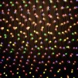 Illuminazione luminosa di colore Fotografia Stock Libera da Diritti
