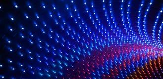 Illuminazione principale variopinta della fase Fotografia Stock