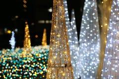 Illuminazioni del parco immagini stock