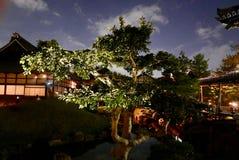 Illuminazioni del tempio di notte - kodai-ji Immagini Stock