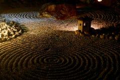 Illuminazioni del tempio di notte - Shoren-in Immagine Stock