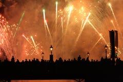 Illuminazioni di Epcot Fotografia Stock Libera da Diritti