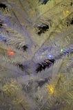 Illuminazioni di Natale Fotografia Stock Libera da Diritti
