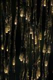 Illuminazioni di Natale Fotografia Stock