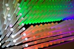 Illumini i bastoni Fotografie Stock Libere da Diritti