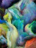 Illusie van Gesmolten Kleuren vector illustratie