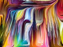 Illusie van Gesmolten Kleuren stock illustratie