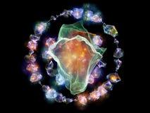 Illusie van Juwelen vector illustratie