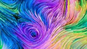 Illusie van Kleurrijke Verf vector illustratie