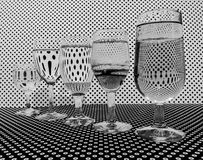 illusion image stock