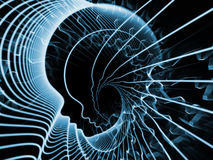 Illusion av anda och meningen Royaltyfria Foton