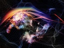 Illusion av teknologi Royaltyfria Foton