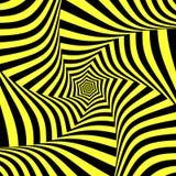 Illusion av vridningsrörelse Abstrakt design Royaltyfria Foton