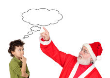 The illusion of Christmas Royalty Free Stock Image