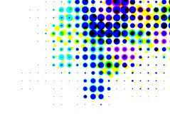 Illusion 3D de vision illustration stock
