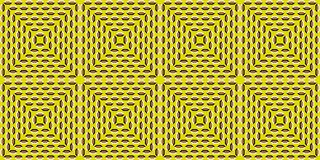 Illusion de tunnel illustration de vecteur