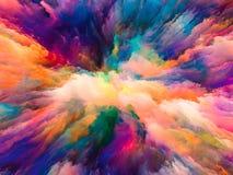 Illusion der surrealen Farbe Lizenzfreie Stockfotografie