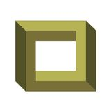 Illusion optique Photo stock