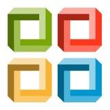 Illusion optique Images libres de droits