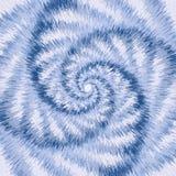 Illusion optique de mouvement spiralé. Images libres de droits