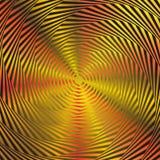 Illusion of orange circles Royalty Free Stock Image