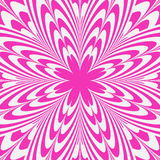 Illusion Pink Flower Abstract Background Royalty Free Stock Photos