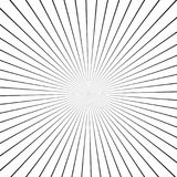 Illusion rays. Vector Illustration. Retro sunburst background. Grunge design element.Black and white backdrop. Good for pictures,. Illusion rays. Vector Royalty Free Illustration