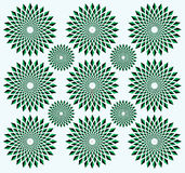 Illusion of rotation movement Royalty Free Stock Photos