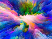 Illusion of Surreal Paint Royalty Free Stock Photo