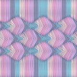 Illusion wave striped Stock Image